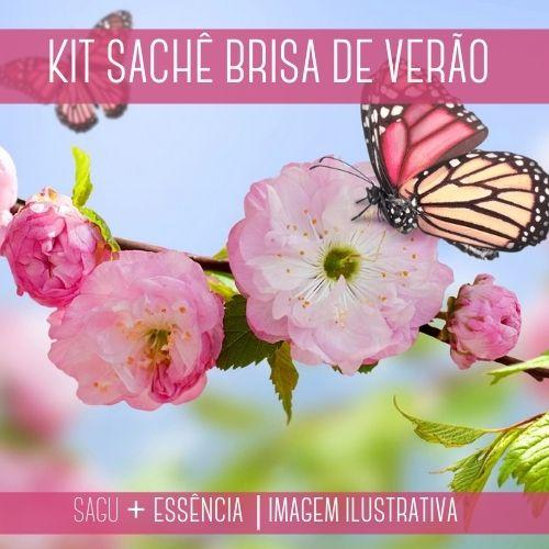 KIT SACHÊ - Sagu + Essência Brisão de Verão Versão Inspirada Downy