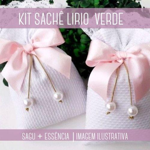 KIT SACHÊ - Sagu + Essência Lírio Verde