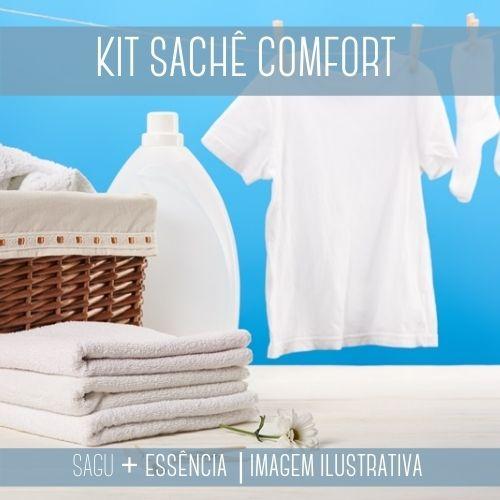 KIT SACHÊ - Sagu + Essência  Versão Comfort Blue