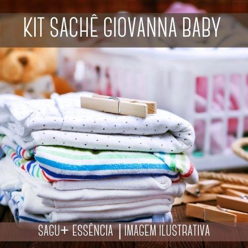 KIT SACHÊ - Sagu + Essência Versão Inspirada Giovana Baby