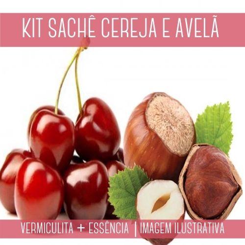 KIT SACHÊ - Vermiculita + Essência Cereja & Avelã