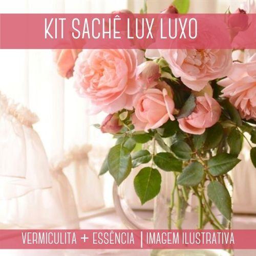 KIT SACHÊ - Vermiculita + Essência Lux Luxo Contratipo