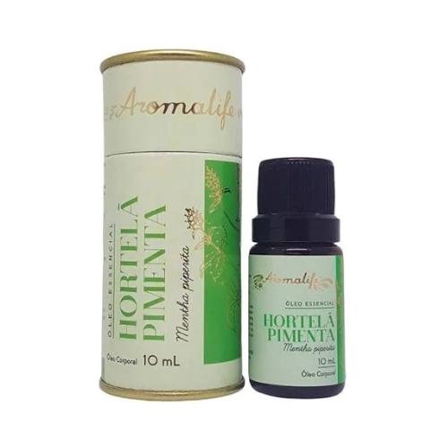 Óleo Essencial Hortelã Pimenta 10ml Aromalife