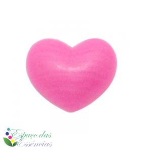 Sabonete Coração Mini Rosa