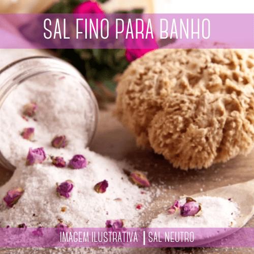 Sal Fino para Banho 1kg