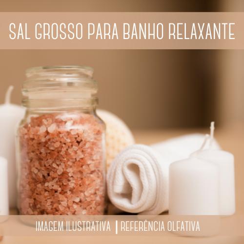 Sal Grosso Relaxante para Banho