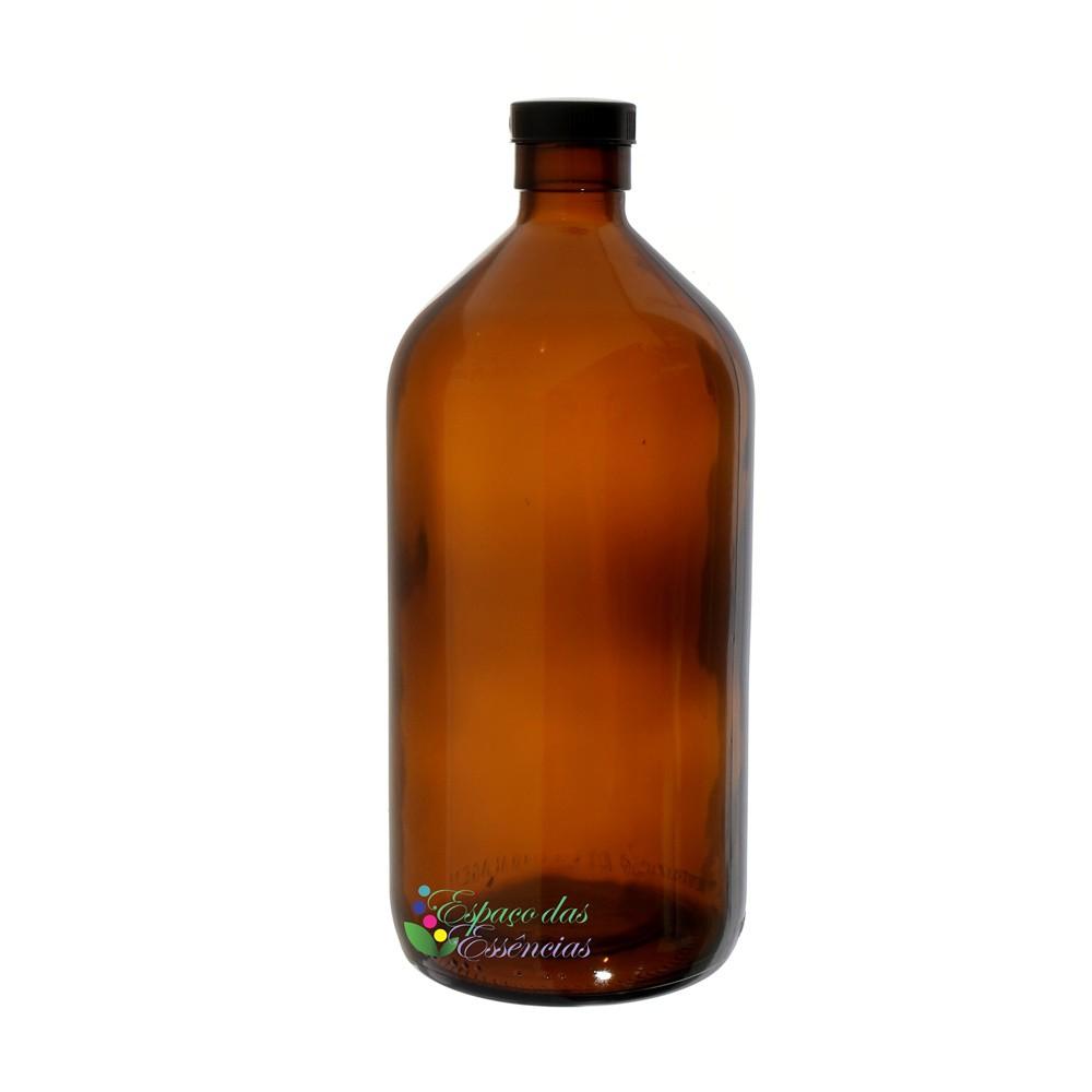 Vidro Âmbar 1 litro