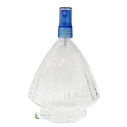 Vidro Santinha Aparecida Spray Azul