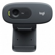 Webcam Gamer C270 HD 720p Com Microfone Plug-and-play 3 MP Original - Logitech