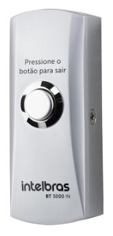 ACIONADOR DE SAÍDA INOX SOBREPOR BT 3000 IN - INTELBRAS