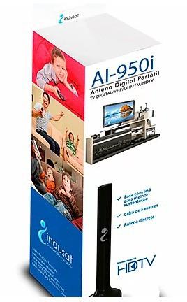 Antena Interna AI-950i com Cabo de 5 Metros - Indusat