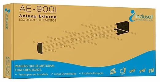 ANTENA LOG DIGITAL COM 16 ELEMENTOS S/ KIT AE-900I - INDUSAT