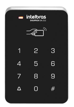 CONTROLADOR DE ACESSO 125 HZ DIGIPROX SA 202 - INTELBRAS