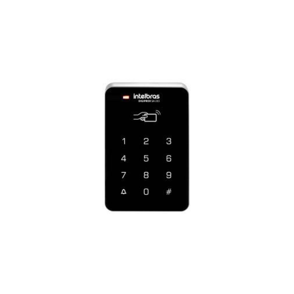 CONTROLADOR DE ACESSO 13,56MHZ DIGIPROX SA 203 MF - INTELBRAS