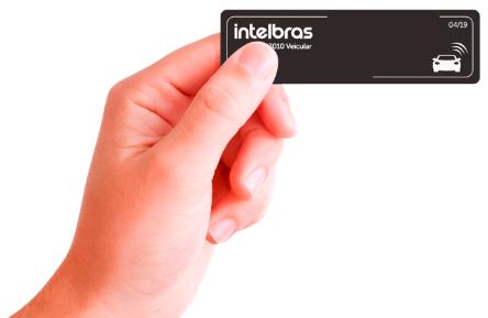ETIQUETA DE ACIONAMENTO RFID 900 MHZ TH 3010 VEICULAR - INTELBRAS