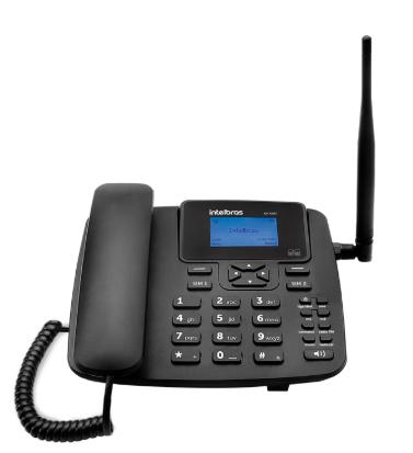 TELEFONE CELULAR FIXO GSM DUAL CHIP CF 4202 - INTELBRAS