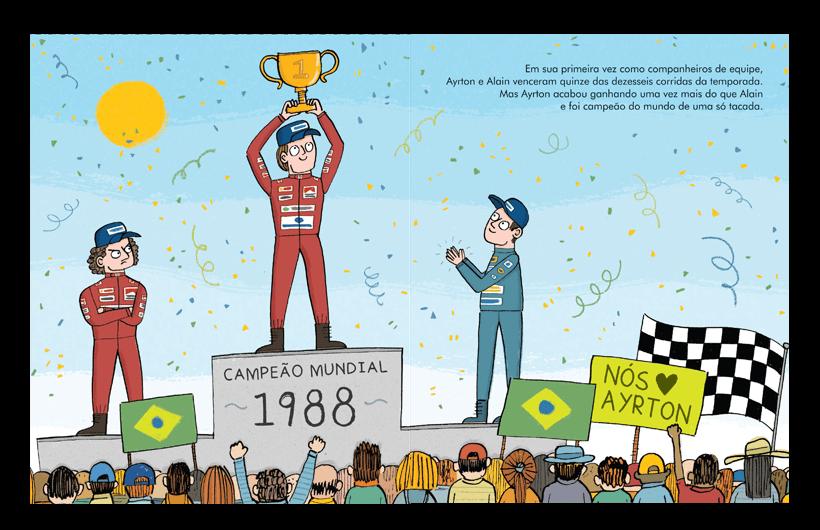 Gente Pequena, Grandes Sonhos - Ayrton Senna