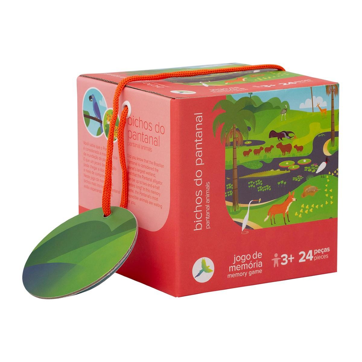 Jogo da Memória - Bichos do Pantanal