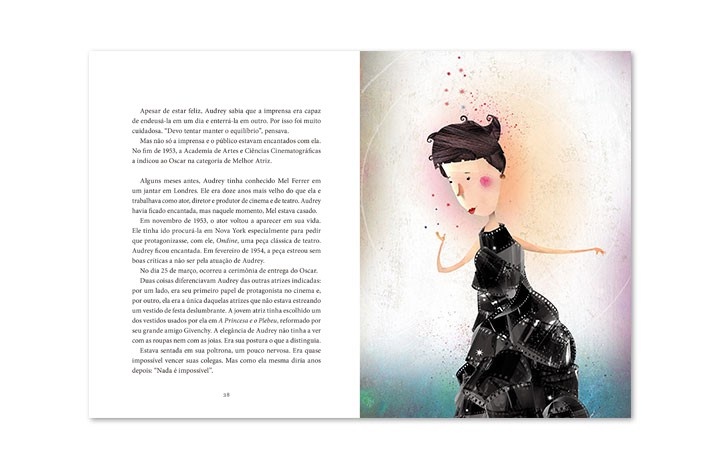 Montando Biografias - Audrey Hepburn