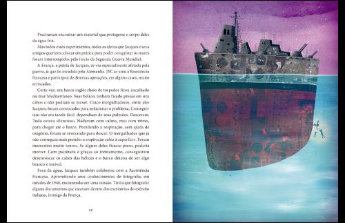 Montando Biografias - Jacques Cousteau