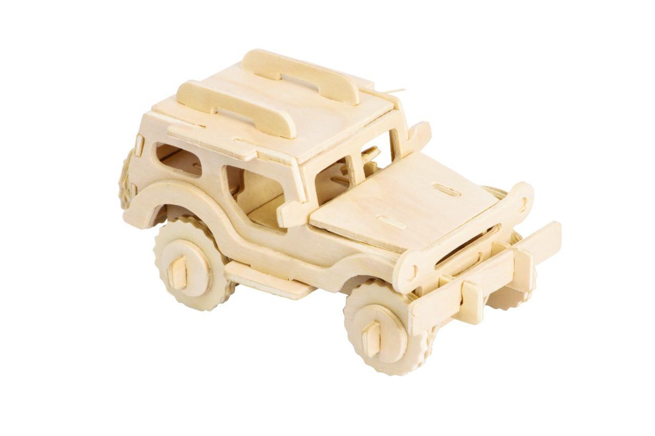 Quebra-cabeça Desafio 3D - Jeep