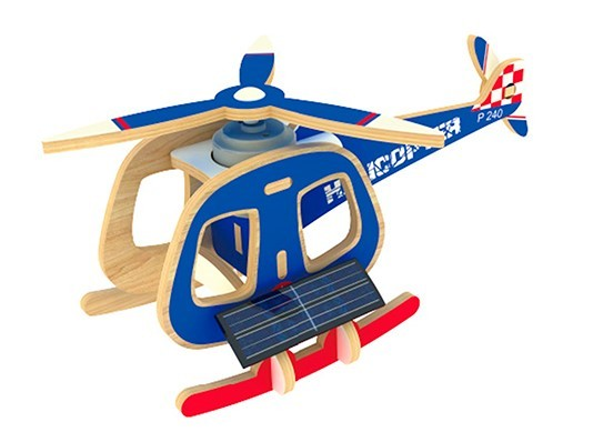 Quebra-cabeça Desafio 3D Solar - Helicóptero
