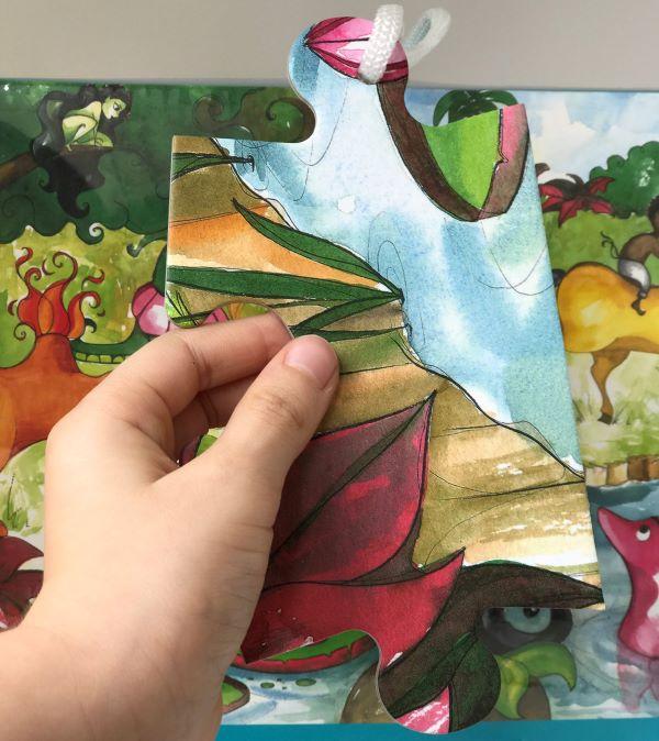 Quebra-cabeça Gigante - Folclore Brasileiro