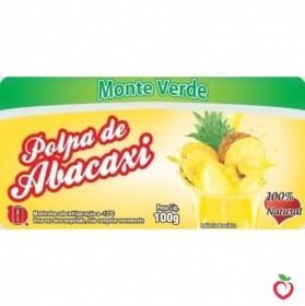 Abacaxi - Polpa de Fruta Congelada (10x100g)