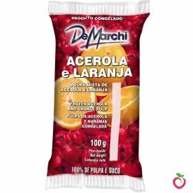 Acerola e Laranja - Polpa de Fruta Congelada 100g