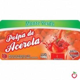 Acerola - Polpa de Fruta Congelada (10x100g)