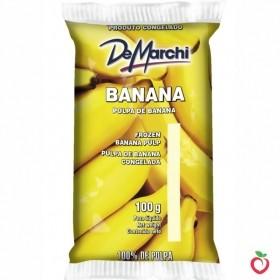 Banana - Polpa de Fruta Congelada 100g