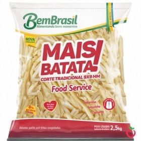 Batata Bem Brasil Congelada 2,5kg