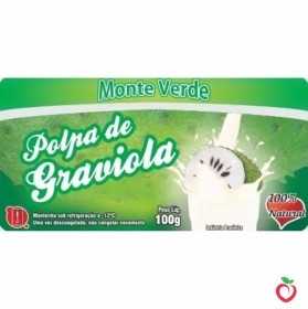 Graviola - Polpa de Fruta Congelada (10x100g)