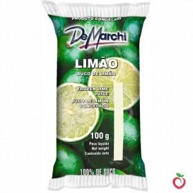 Limão - Polpa de Fruta Congelada 100g