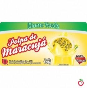 Maracujá - Polpa de Fruta Congelada (10x100g)