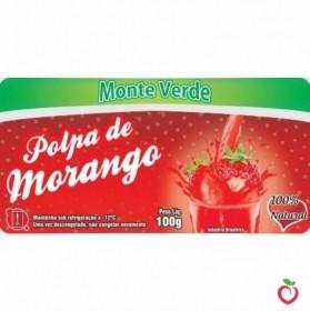 Morango - Polpa de Fruta Congelada (10x100g)