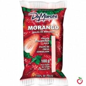 Morango - Polpa de Fruta Congelada 100g