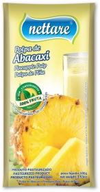 NETTARE - POLPA DE ABACAXI  100G  (PACOTE C/ 4 UND)