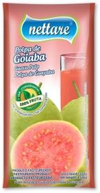 NETTARE - POLPA DE GOIABA 100G  (PACOTE C/ 4 UND)
