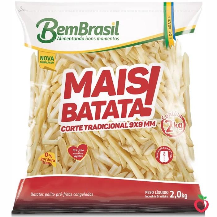 Batata Bem Brasil Congelada 2kg