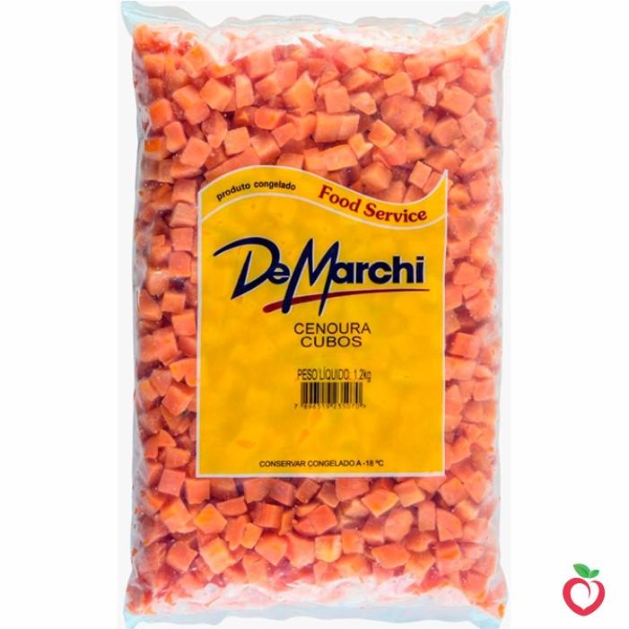 Cenoura Não Cozido Congelado 1,2kg