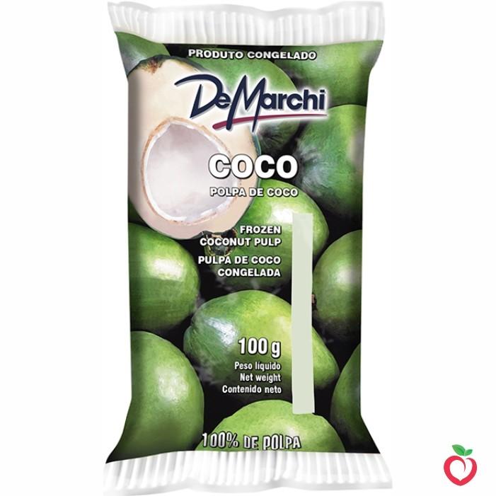 Coco - Polpa de Fruta Congelada 100g