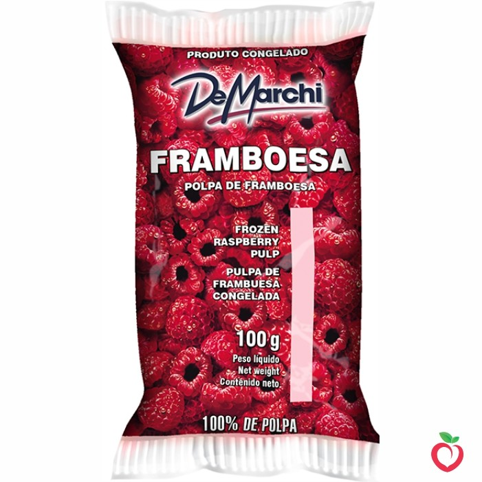 Framboesa - Polpa de Fruta Congelada 100g