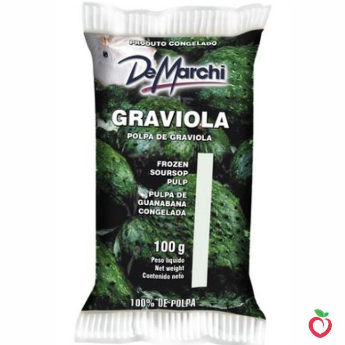 Graviola - Polpa de Fruta Congelada 100g