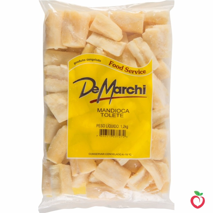 Mandioca Tolete Não Cozido Congelado 1,2kg