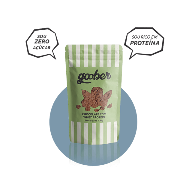 Chocolate com Whey Protein - Sachê 150 g