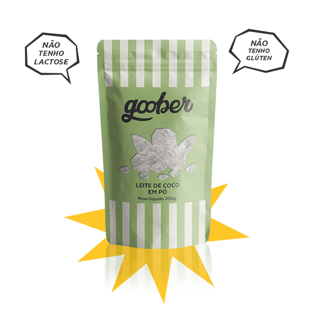 Leite de Coco em Pó - Sachê 130 g