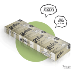 Paçoca Goober Zero Açúcar com Aveia - Pack com 4 unidades