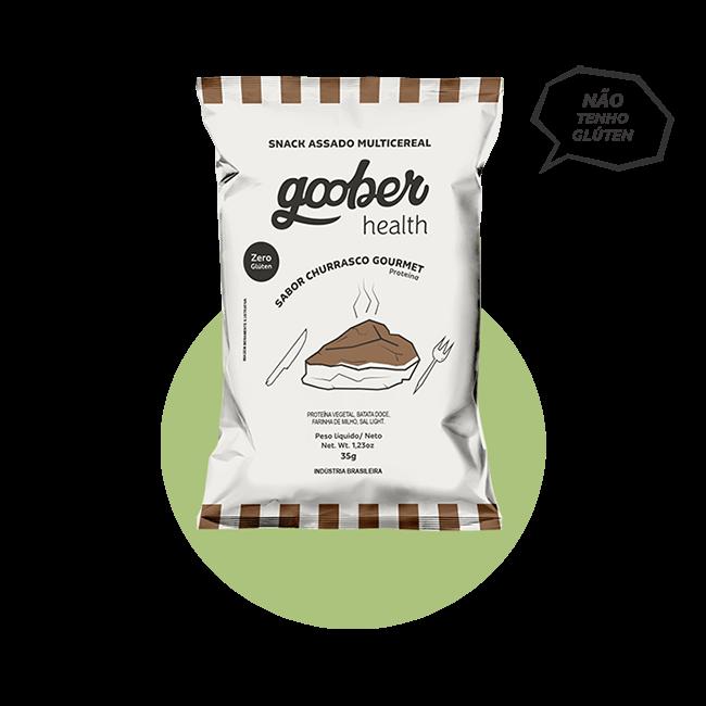 Snack Multicereal Goober - Churrasco Gourmet  35 g