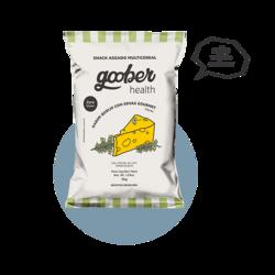 Snack Multicereal Goober - Queijo Com Ervas Gourmet 35 g